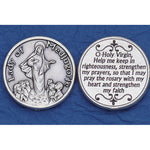 Our Lady of Medjugorje Pocket Token