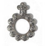 Our Lady of Medjugorje Rosary Ring