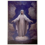 Our Lady of Medjugorje Painting Sticker