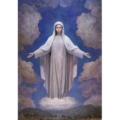 Our Lady of Medjugorje - Small Prayercard