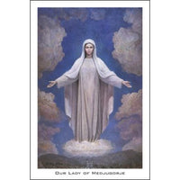 Our Lady of Medjugorje - Prayercard