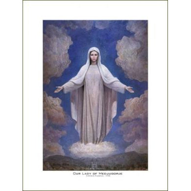 Our Lady of Medjugorje - Print