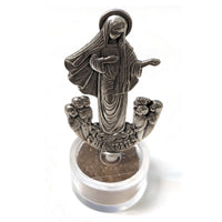 Round Terra Base Our Lady Statue