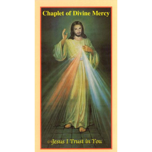 The Chaplet of Divine Mercy - Small Size