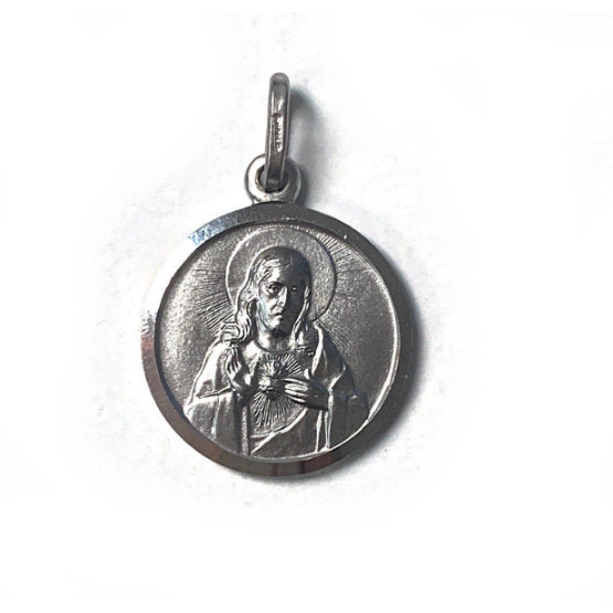 Scapular Medal in Sterling Silver