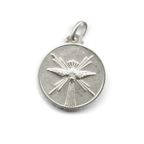 Holy Spirit Medal in Silver