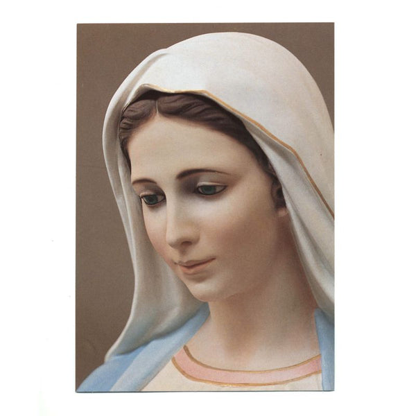 Our Lady of Tihalijna Prayercard