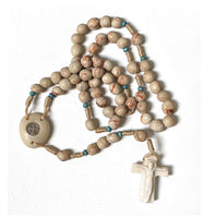 Handcrafted Rock Rosary