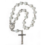 White Crystal Peace Chaplet