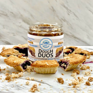 Blueberry Crumble Pie Dough Duo