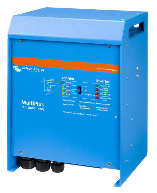 MultiPlus 12V 3000VA 120A (left)
