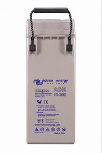 12V 200Ah AGM Deep Cycle Battery (side)