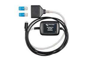 VE.Direct to VE.CAN interface + RJ45 terminals