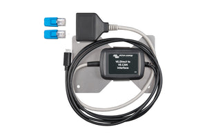 VE.Direct to VE.CAN interface+RJ45 terminals+mounting