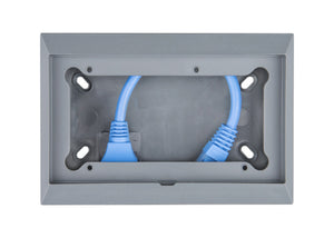 Wall mount enclosure for 65 x 120mm GX panels
