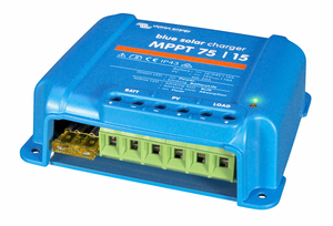 BlueSolar charge controller MPPT 75/15 (right)