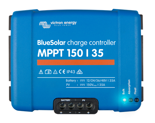 BlueSolar charge controller 150-35 (top)