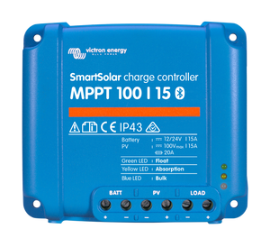 SmartSolar Charge Controller 100/15_top