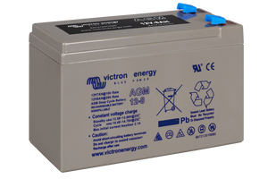 12V 8Ah AGM Deep Cycle Battery (right)