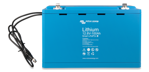 LiFePO4 Battery 12.8V 100Ah Smart (front)