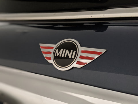 Mini Cooper - Mini Wings Emblem Accent Overlay Multi-Size (Front & Back Set)