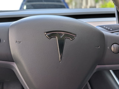 Tesla Model 3 / Y Steering Wheel Overlay