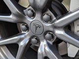 Tesla Wheel Center Cap Overlay (4 Pack)