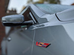 2016-2019 (3rd Gen) Cadillac CTS - Side Fender V Flag Emblem VinylMod Overlays (2pc)