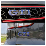 2010-2014 (MK6) Volkswagen Golf - Front and Rear (Combo) GTI Emblem Overlay