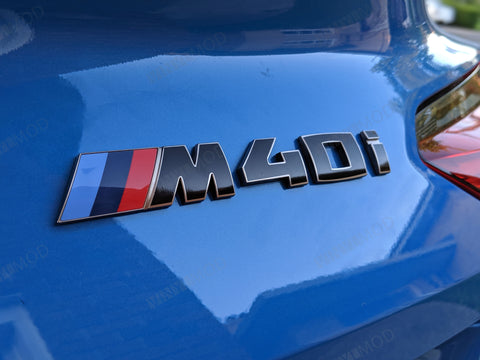 2019+ (6th Gen) BMW Z4 - Rear M40i Emblem Vinylmod Overlay