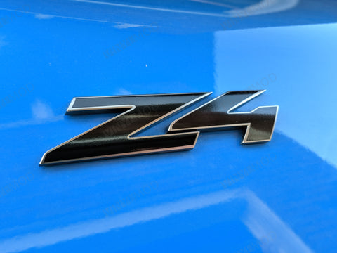 2019+ (6th Gen) BMW Z4 - Rear Z4 Emblem Vinylmod Overlay