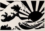 The Great Wave/Rising Sun - Sunroof Decal