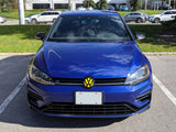 2018+ (MK7.5) Golf - Front Overlay for VW Emblem w/ Drive-assist Full Chrome Delete