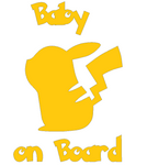 Pikachu - Baby On Board