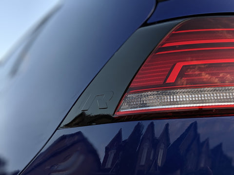 2015+ VW (MK7.5+) Golf - Rear Taillight Eyelid Overlay Set