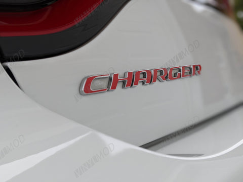 2011+ (7th Gen) Dodge Charger - Rear Charger Emblem VinylMod Overlays