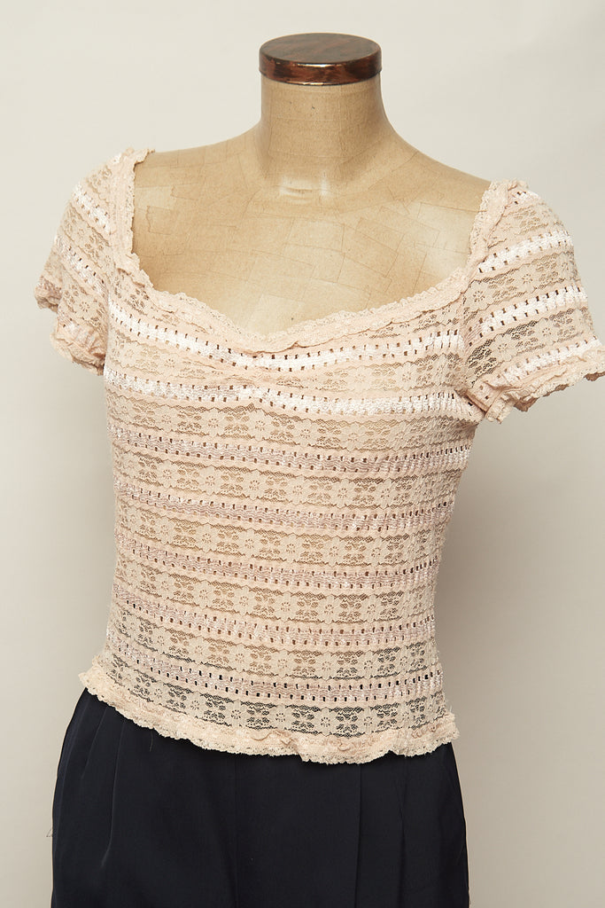 Top vintage beige casual-Moschino Cheap & Chic-Carousel