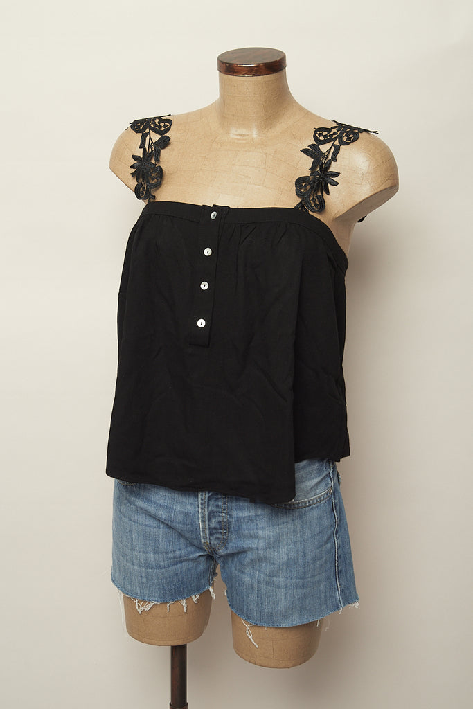 Top casual negro-Hirondelle-Carousel