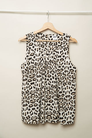Top vero moda | look casual | camiseta animal print