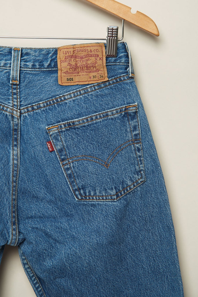 Jeans levis vintage 501 azul-L-Carousel-ropa-vintage-mujer-online
