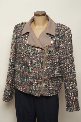 Chaqueta  estilo perfecto en tweed