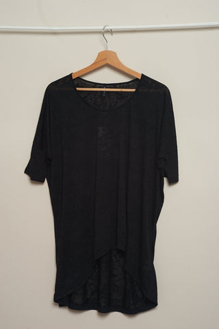B.young | Camiseta Oversize Spence Negra | Camisas Y Tops