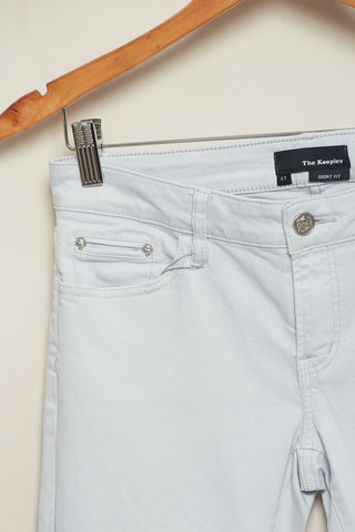Pantalón Short Fit degradé gris-The Kooples-27-ropa-segunda-mano