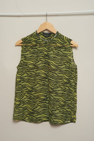 Top animal print-Maison Scotch-2-ropa-segunda-mano