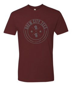 Brew City Tees Mens Ox Blood T Shirt