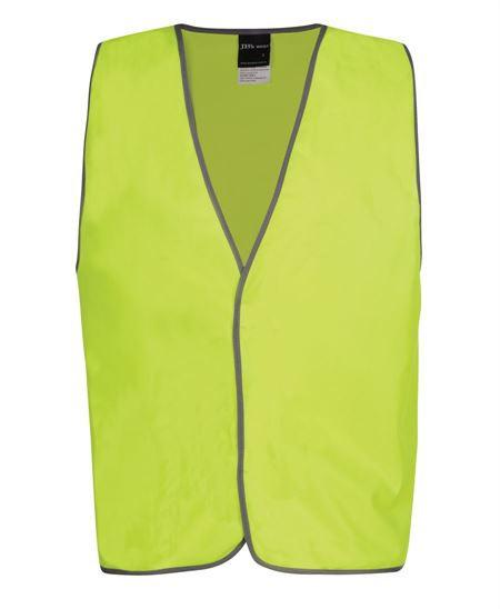 JB's Hi Vis Safety Vest Staff (6HVS6)