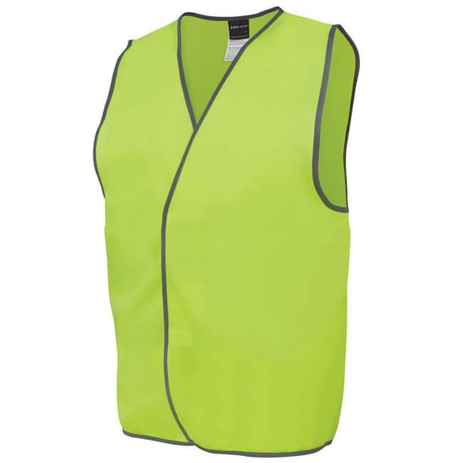 Jb's Hi Vis Safety Vest - Adults (6HVSV)
