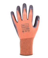 JB's 8R026 Bamboo Latex Crinkle 1/2 Dipped Glove 12 Pack