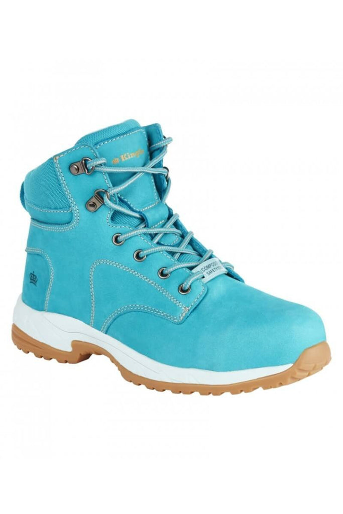 King Gee KingGee - Womens Trade Zip Teal (K27370)