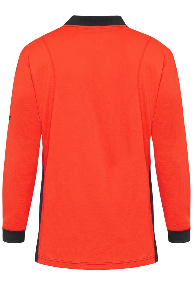 King Gee Hyperfreezed Spliced L/S Polo-(K54235)